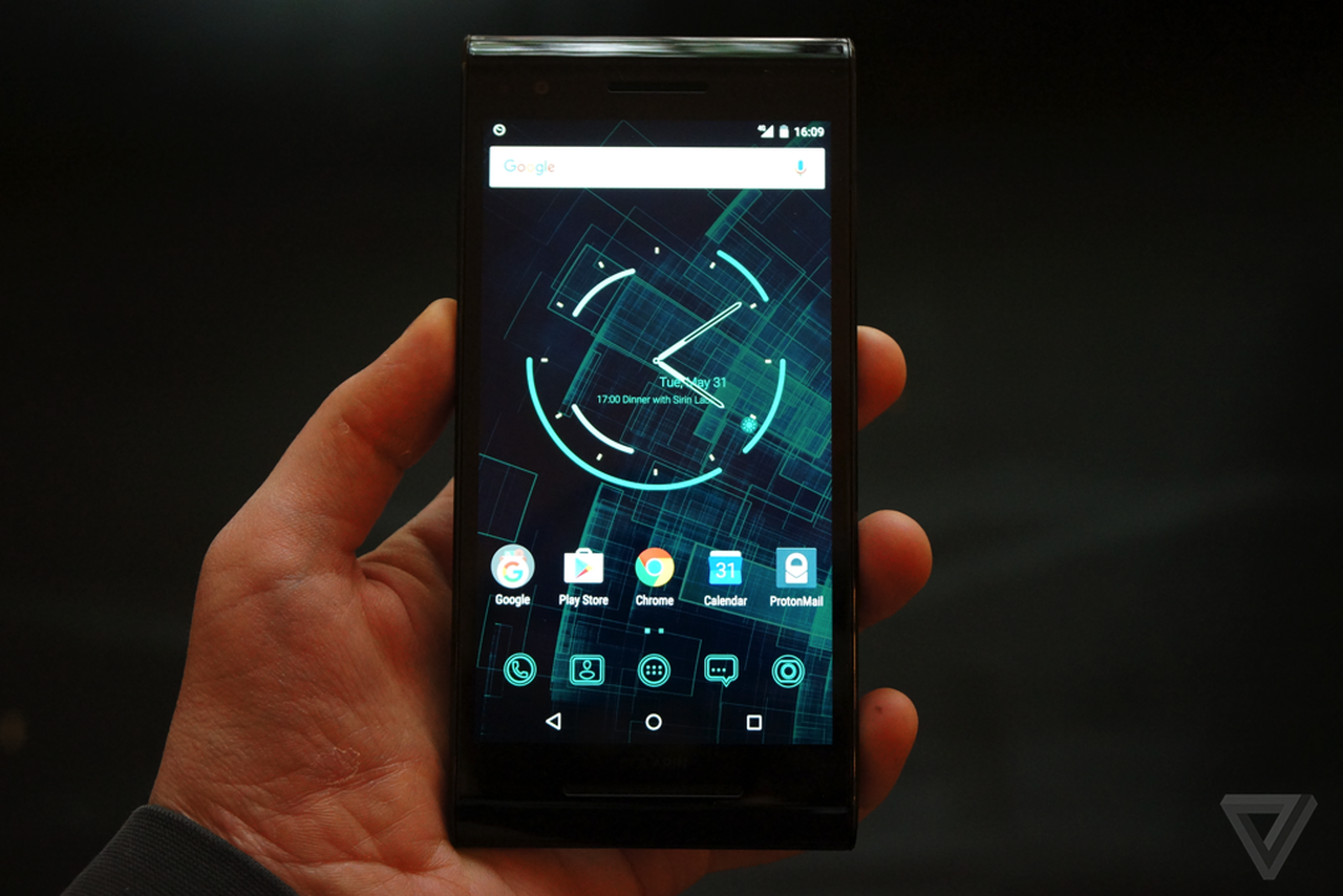 Sirin Labs Solarin Android Phone